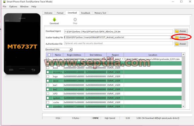 Cara mengatasi Asus Zenfone 3 Max X008DA Lupa Email Atau