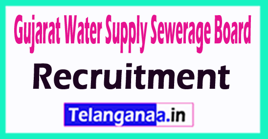 Gujarat Water Supply Sewerage Board GWSSB Recruitment