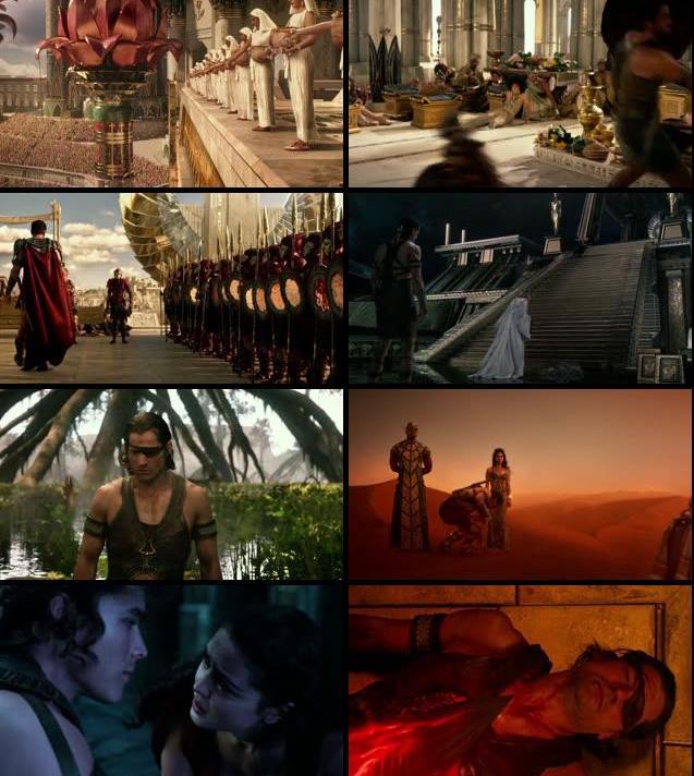 Gods of Egypt 2016 English 720p BRRip