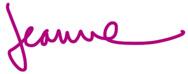 Jeanne K. Chung signature, Cozy•Stylish•Chic