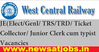 wc-railway-JE-Clerk-cum-typist-Vacancies