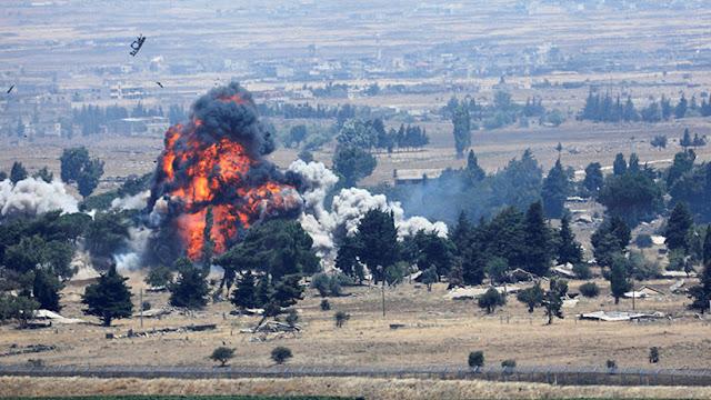 """Reportan un ataque aéreo israelí contra """"una infraestructura militar"""" en el noroeste de Siria"""
