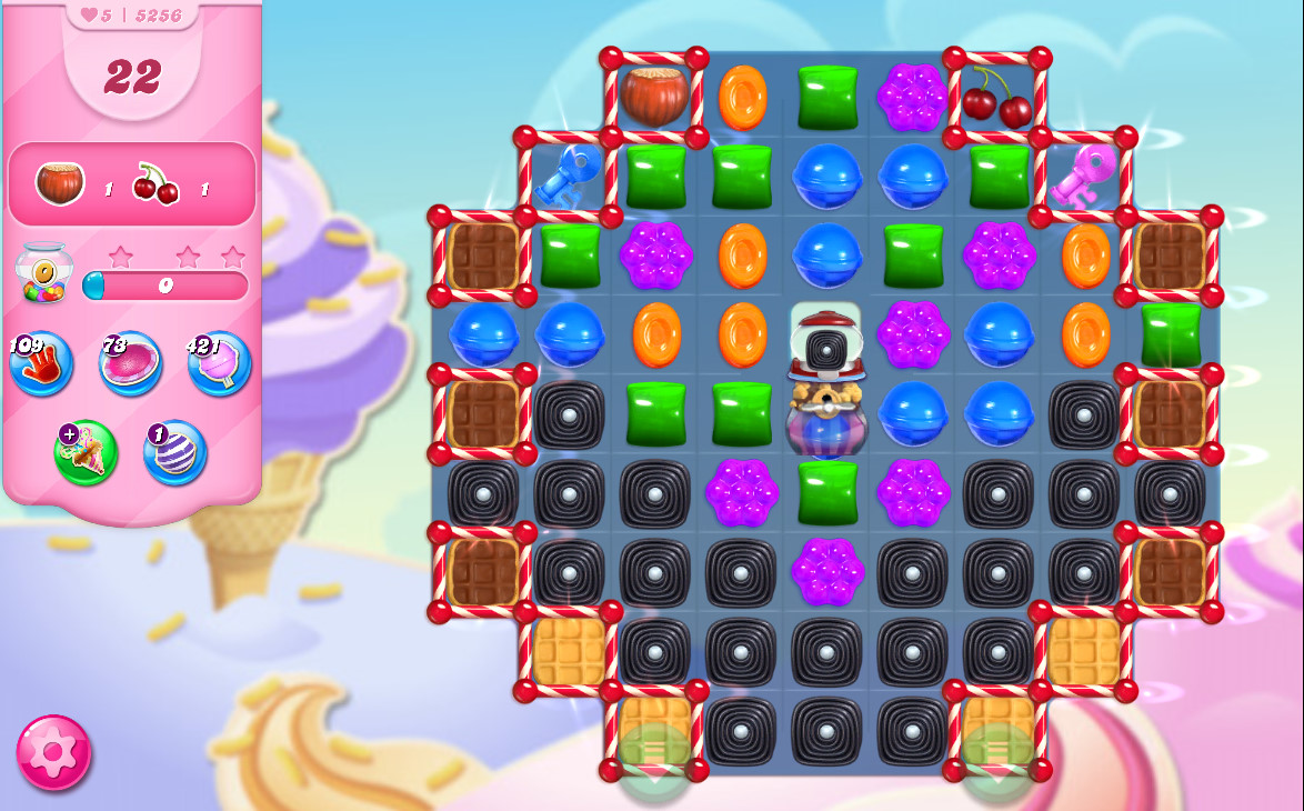 Candy Crush Saga level 5256