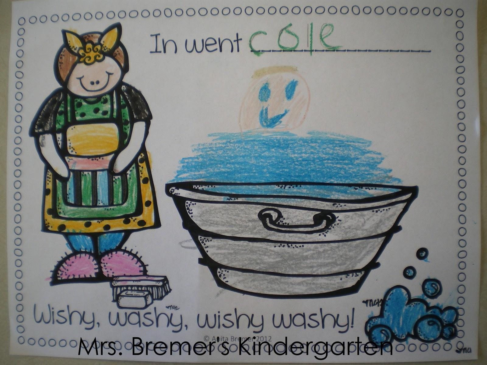 Mrs. Bremer\'s Class: Mrs. Wishy-Washy\'s Christmas {Freebie}
