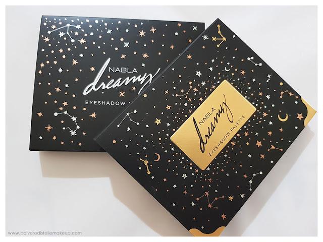 Packaging Nabla Cosmetics Dreamy Eyeshadow Palette