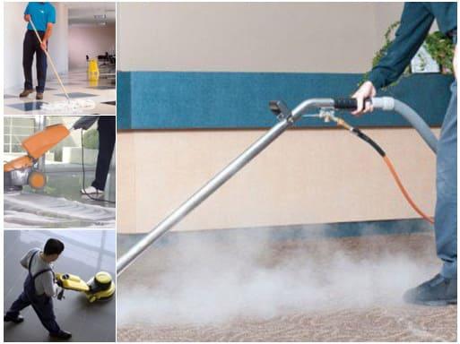 مشروع تقديم خدمات التنظيف