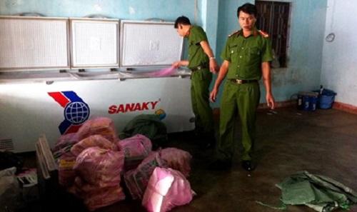 Gia Lai: Phát hiện hơn 350 kg thịt không rõ nguồn gốc dùng để nấu đám cưới