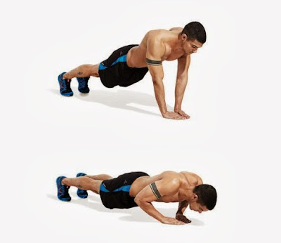 تضخيم العضلات بدون حديد