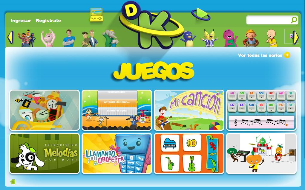Juegos Musicales De Discovery Kids Educar Y Motivar