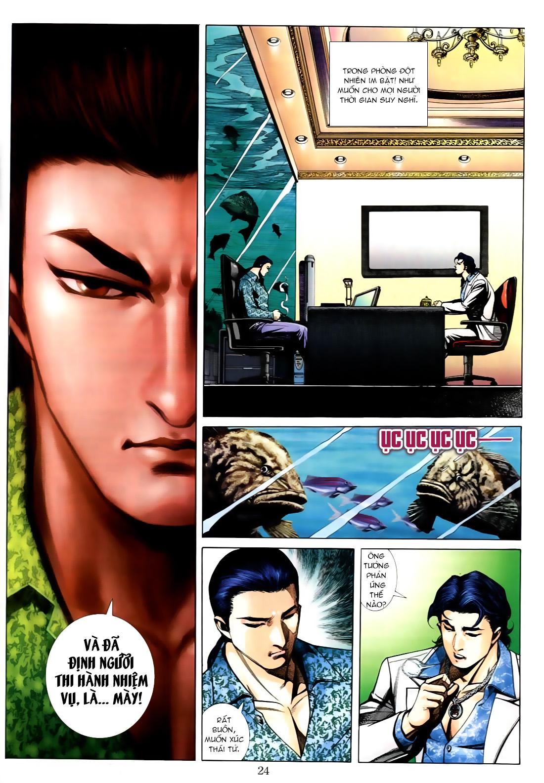Người Trong Giang Hồ chapter 556: làm khó nam đẹp trai trang 16