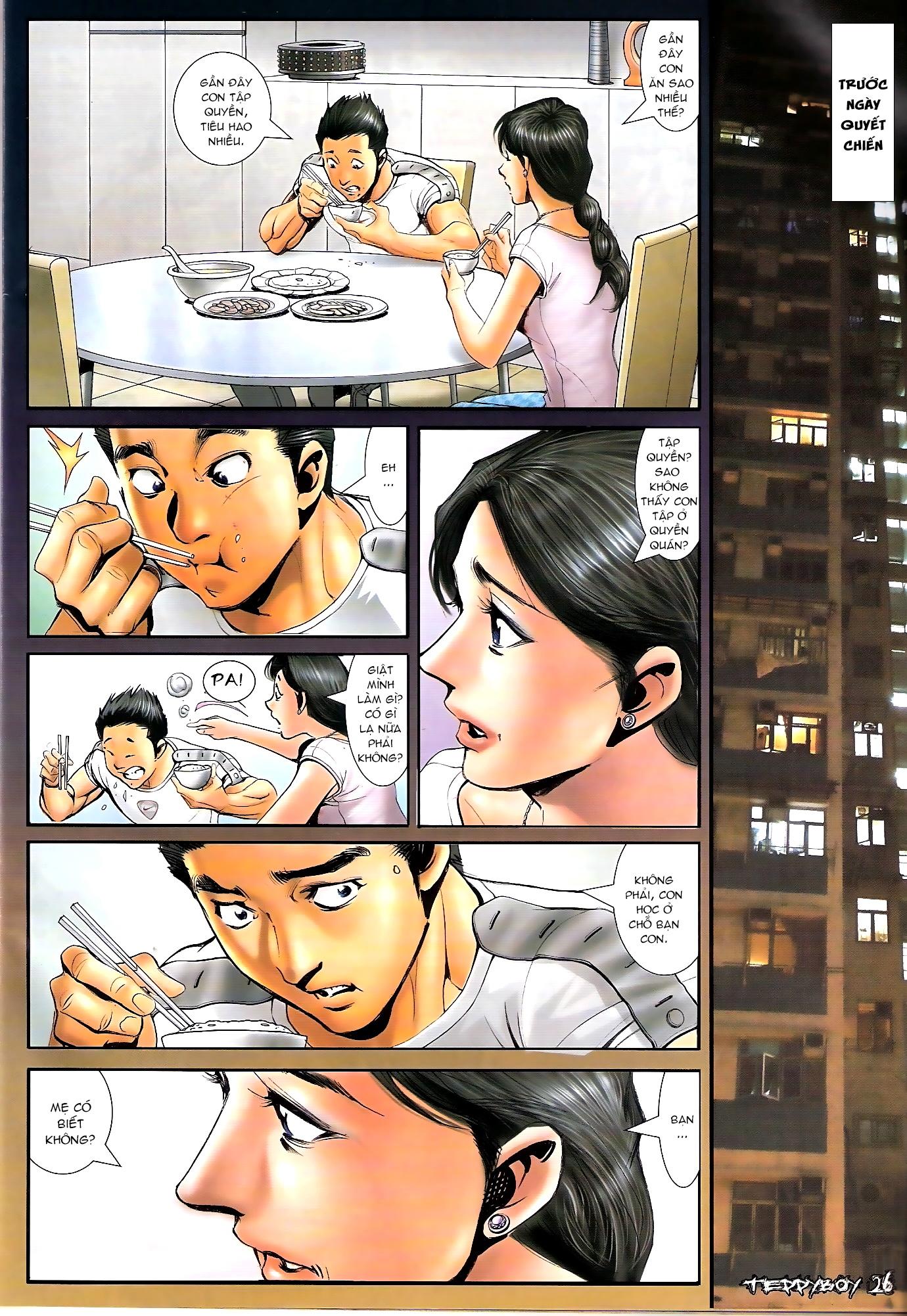 Người Trong Giang Hồ - Chapter 1304: Mâu công Thuẫn - Pic 23