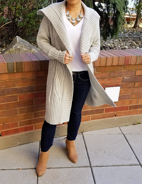 Long Cozy Cardigan from Target