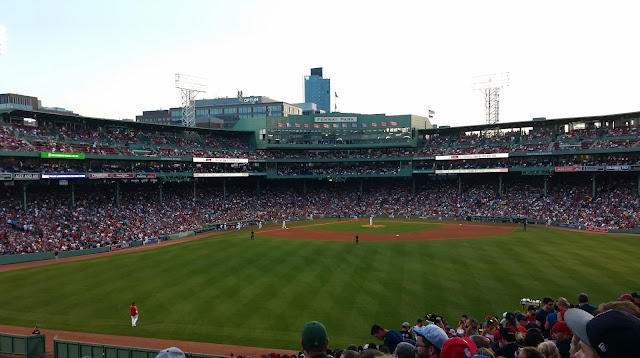 Baby's First Baseball Game, Fenway Park, family