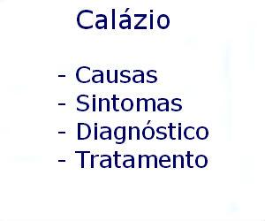 Calázio causas sintomas diagnóstico tratamento prevenção riscos complicações