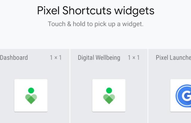 تطبيق Pixel Shortcuts