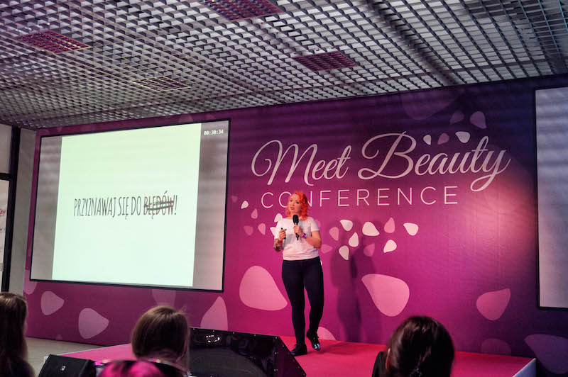 meet beauty 2017, konferencja beauty, beauty bloger, blogerka beauty, red lipstick monster