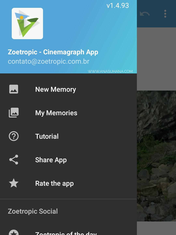 Aplikasi Zoetropic