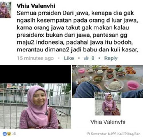 Gadis Cantik Ini Jadi Bulian Netizen Karena Hina Orang Jawa, Bagaimana Kisahnya?