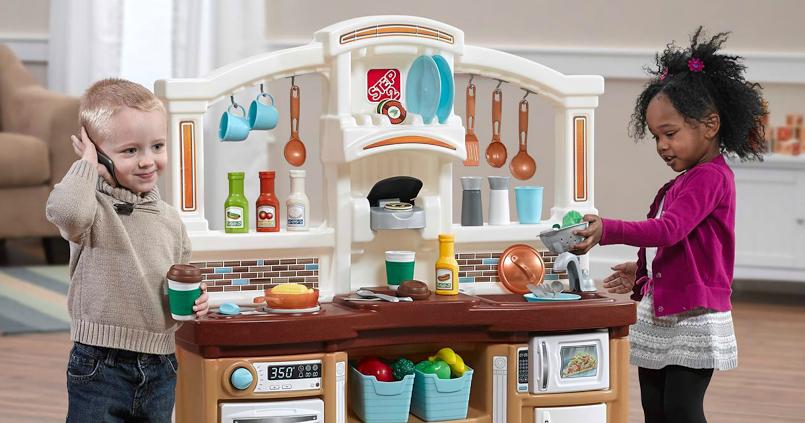the mommy island just like home step2 kitchen giveaway. Black Bedroom Furniture Sets. Home Design Ideas