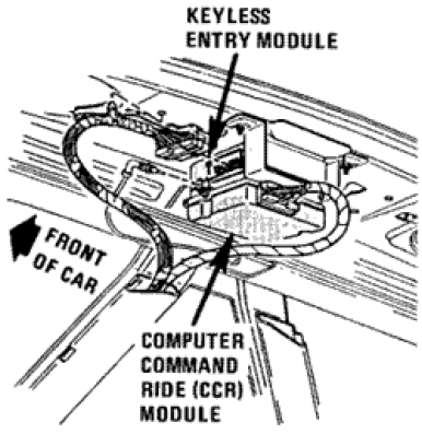 car remote and key programming buick reatta look in the trunk beneath the rear shelf between the place that the speakers are mounted ground the green single wire vac connector located at the keyless