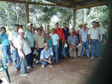 La CGTP realiza gira de trabajo junto a los sindicatos campesinos.