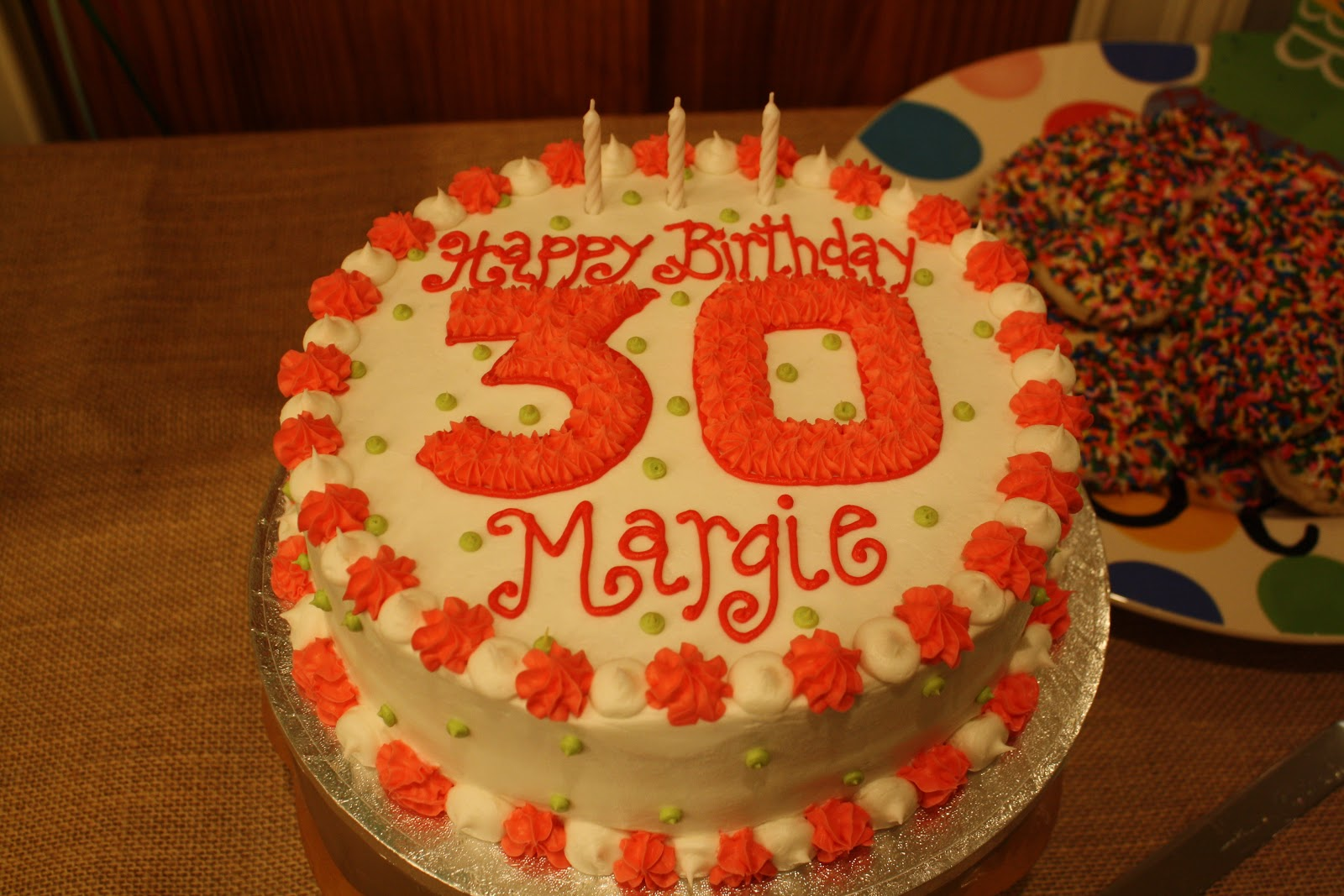 Keeping Up With Kelly: SURPRISE! Happy Birthday, Margie