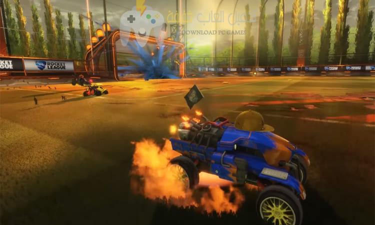 تحميل لعبة Rocket League من ميديا فاير