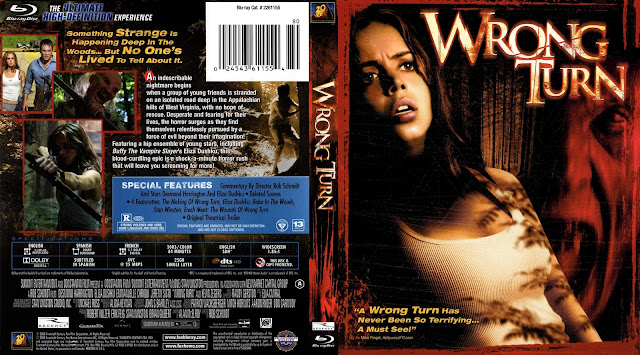 Wrong Turn Bluray Cover