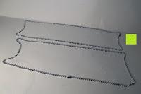 Ketten: UM Schmuck Rostfreier Stahl Puzzle Paare Halskette fur Sie und Ihn Tai Chi Yin Yang Teilt Anhanger