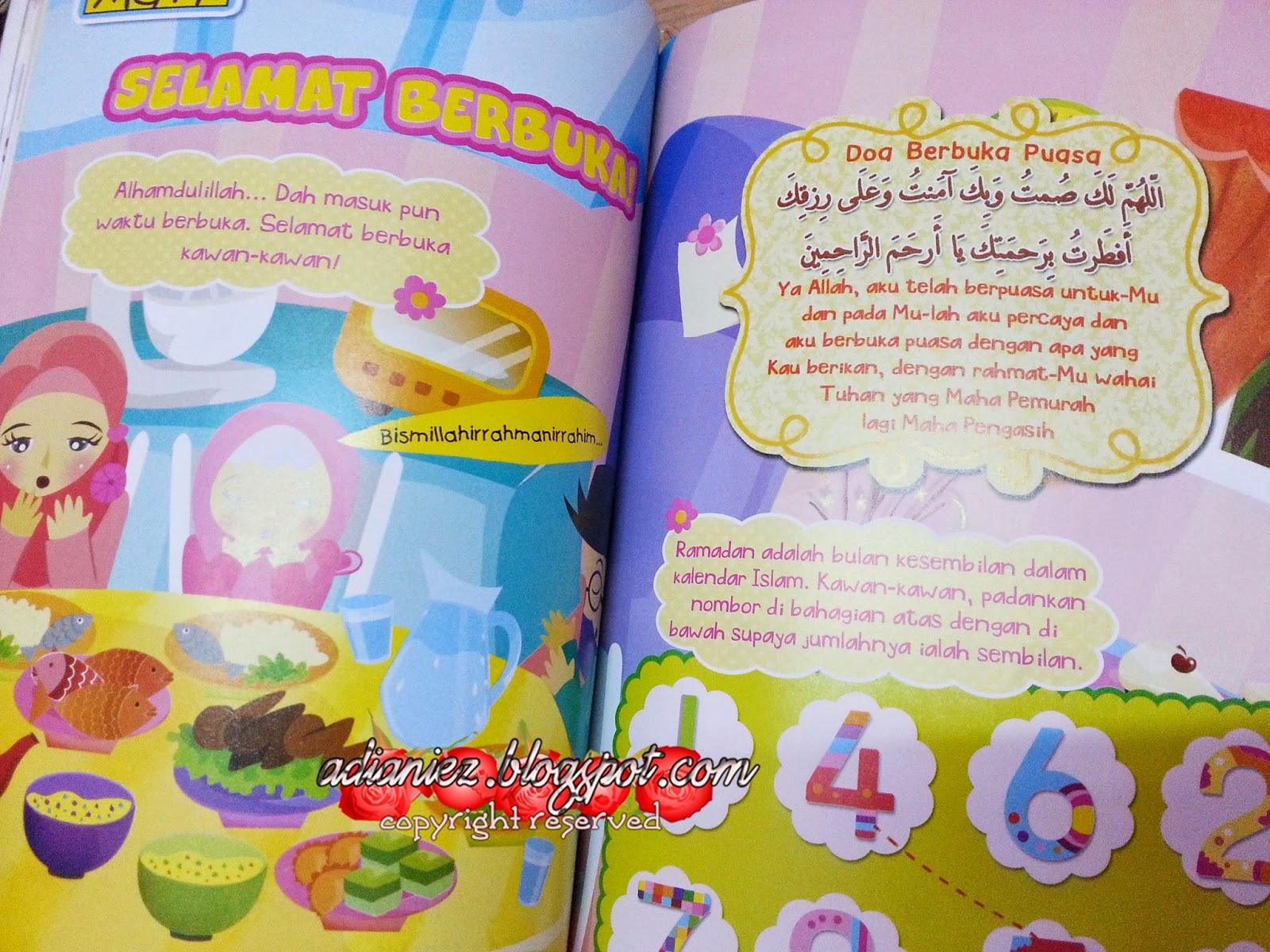 Kompilasi Komik Untuk Bacaan Kanak-Kanak | Adik Muslim, Ana Muslim &  Sayang Muslim