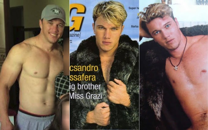Irmão de Grazi Massafera já posou para a G Magazine, vem ver