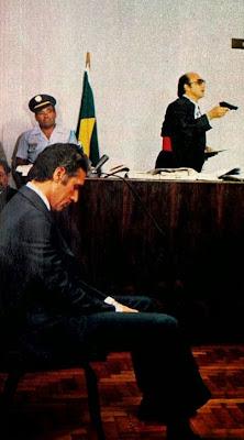 julgamento da década de 70; os anos 70; história dos anos 70. Oswaldo Hernandez