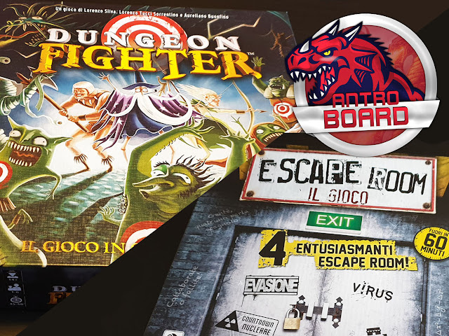Escape Room il gioco Dungeon Fighter recensione