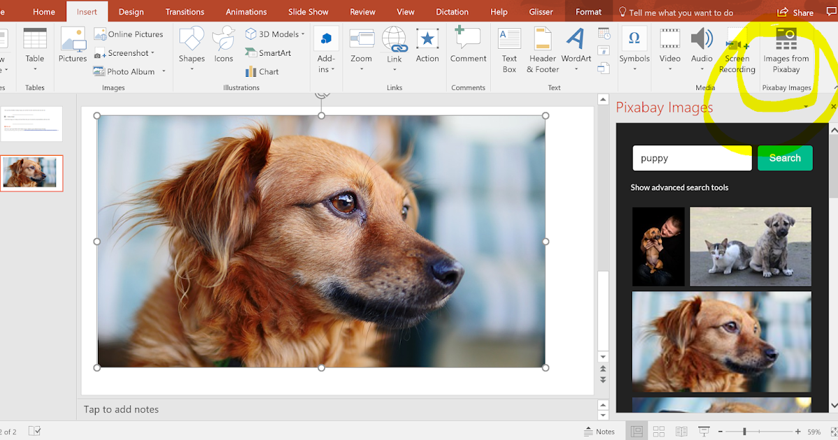 Pixabay Now Has an Office Plug-in
