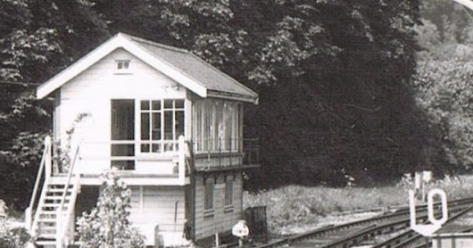 Caterham Station in 1973