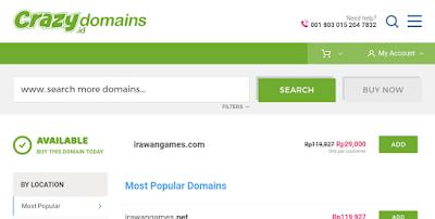 Promo Domain .COM Murah Hanya 29 Ribu