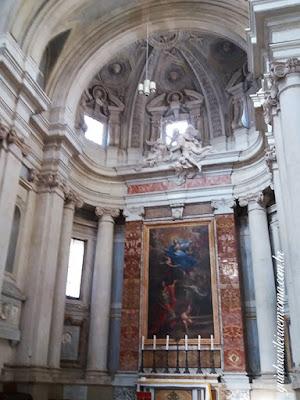 Nave esquerda, São Sebastião, Igreja dos Santos Lucas e Martina