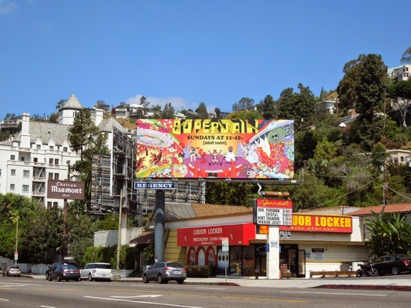 Superjail! season 4 billboard