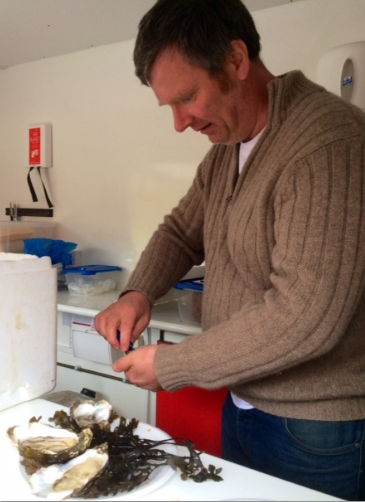 Killary Harbour oysters