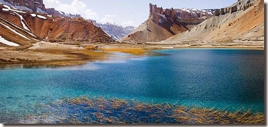 Locais perigosos para turistas - Band-e-Amir - Afeganistão
