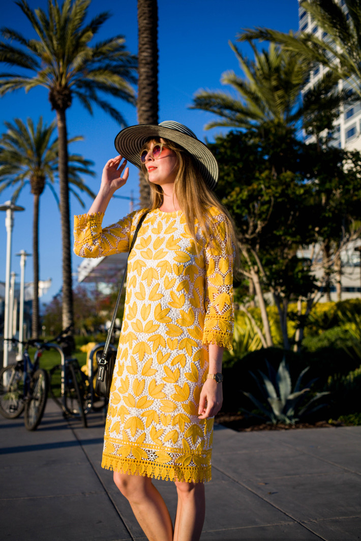 Outfit: Anonyme dress in San Diego