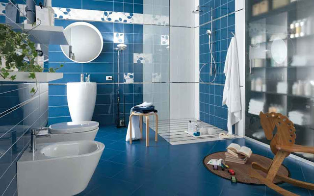 Awesome Designs Paint Colour Royal Blue Bathroom Ideas Images