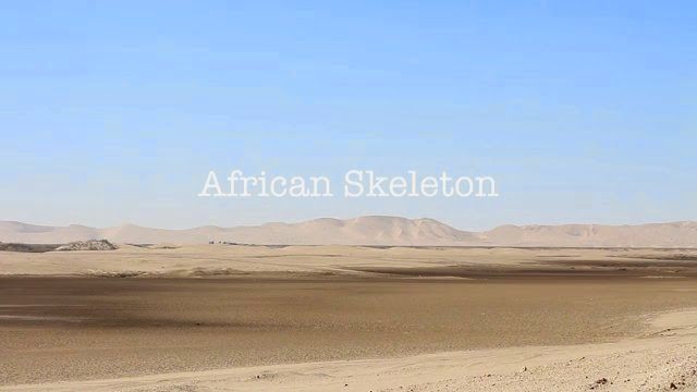 African Skeleton - With Matt Bromley