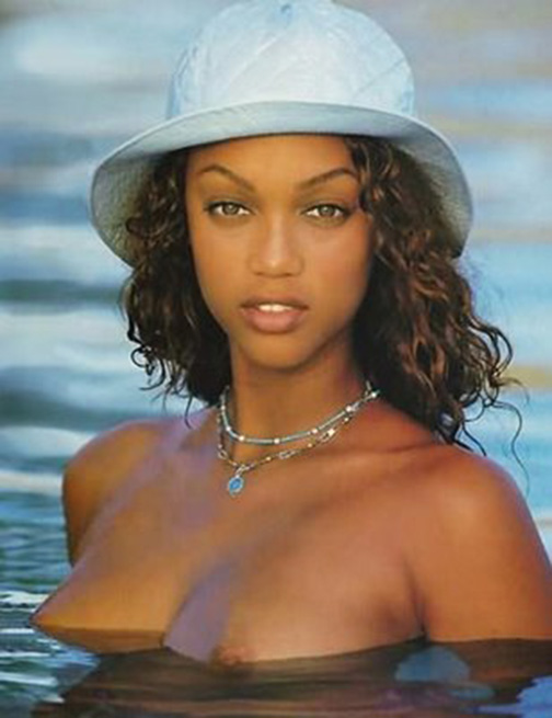 Remarkable, rather Tyra banks naked vigaina