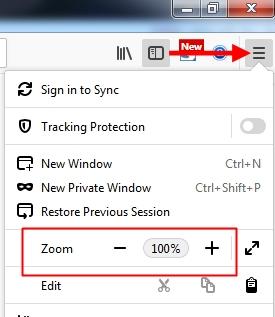 Cara Mengatur Ukuran Layar Monitor Laptop/Komputer untuk Tampilan Web/Blog di Mozilla Firefox