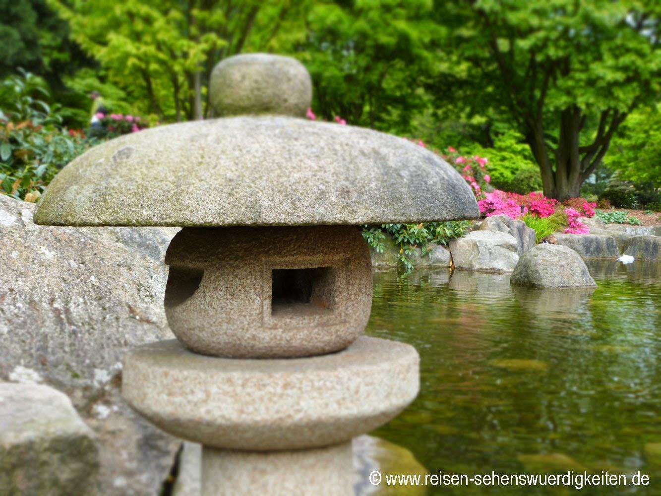 Japanischer Garten Planten un Blomen, dem schönsten Park in Hamburg