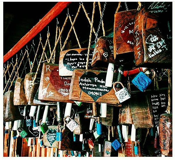 Love Locks, made of cow bells
