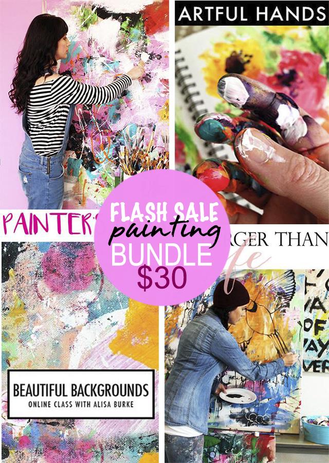 FLASH SALE TODAY! painting bundle