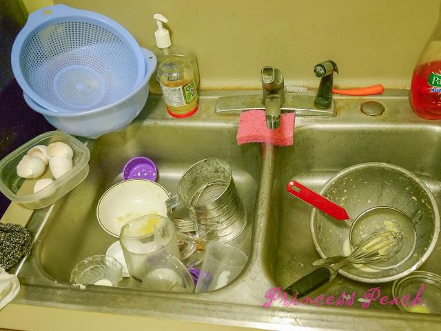 洗不完的碗