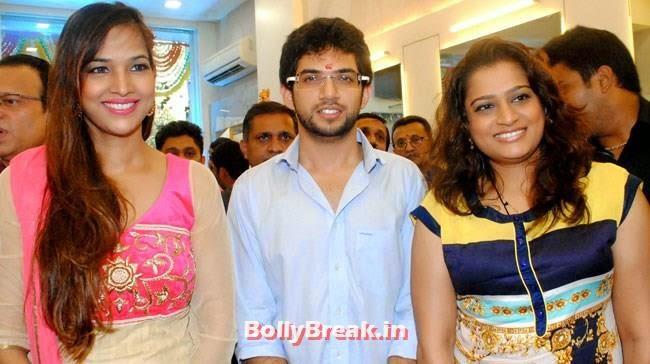Tanisha Singh, Aditya Thackeray and Ekta Jain, Tanisha Singh, Aditya Thackeray  at Shiva Hair Design Salon Opening